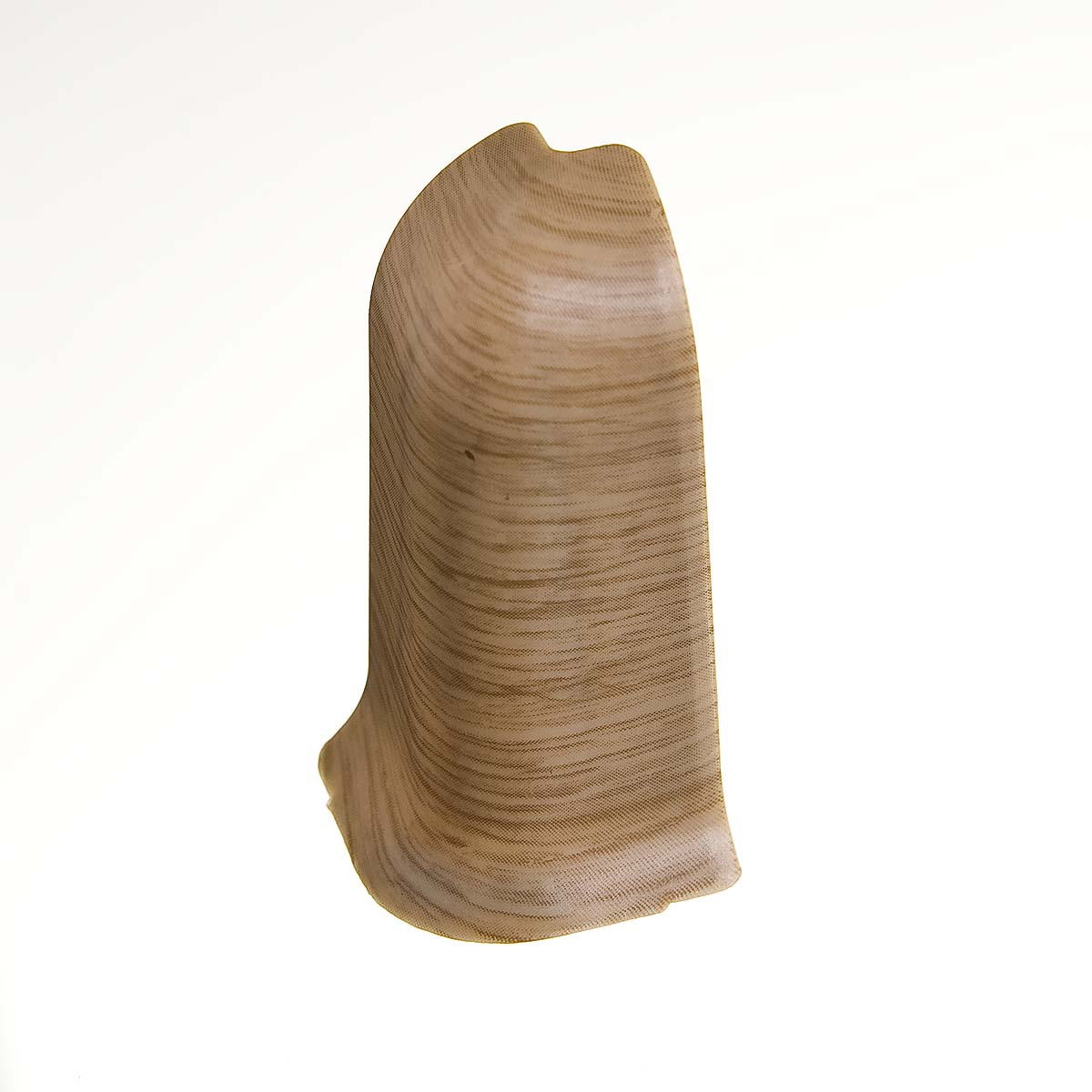 Угол наружный к плинтусу 68 мм дуб натуральный Nexus