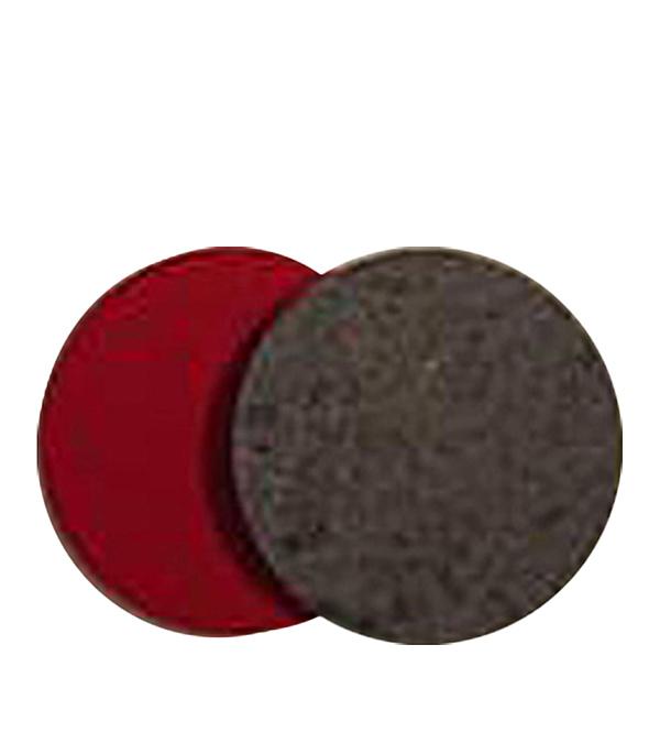 Круг полировальный 125х5 мм войлочный диск шлифовальный с липучкой р40 d 125 мм 5 шт перфорированный bosch профи