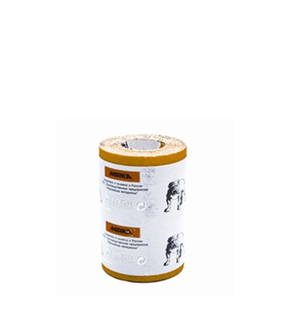 Наждачная бумага Mirox Mirka P240 желтая 115 мм 5 м бумага шлифовальная mirox 93мм x 5м р120