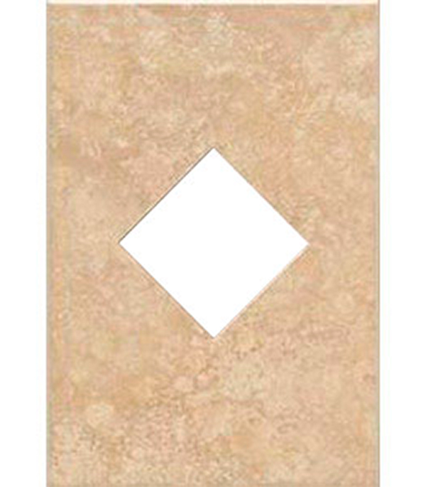 Плитка декор 250х450х8 Фиджи вентана светло-бежевый