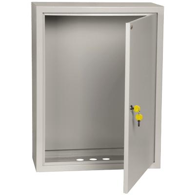 Щиток навесной/напольный с монтажной панелью 395х310х220, металлический, IP31, ИЭК, ЩМП-1