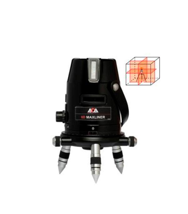 Лазерный нивелир ADA 6D MaxLiner линейный лазерный нивелир ada 6d servoliner