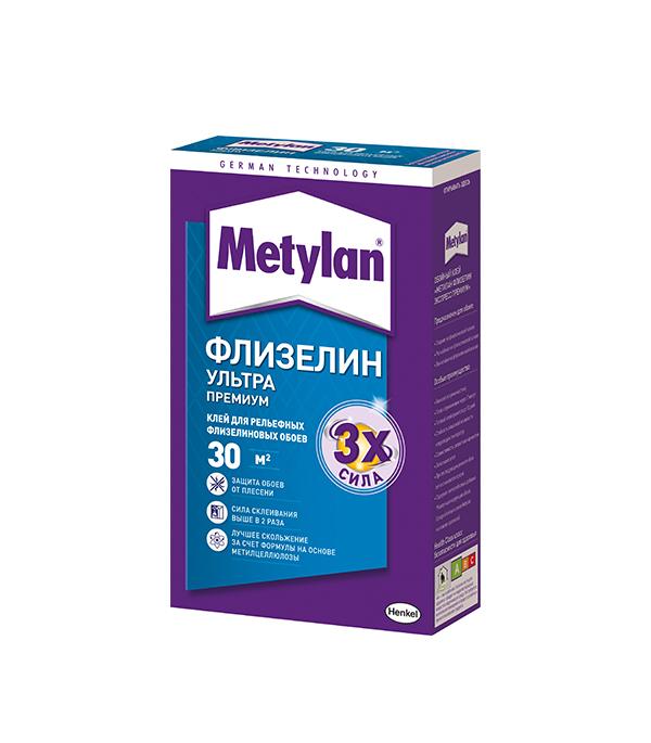 Клей Metylan Флизелин Ультра Премиум для обоев 250 гр обои под покраску marburg lazer 9232 белые 1 06х25м на флизелиновой основе