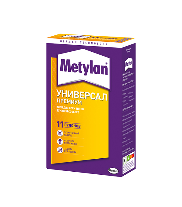 Клей Metylan Универсал Премиум для обоев 250 гр