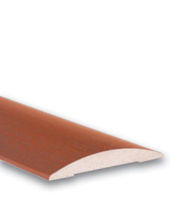 Наличник ламинированный полукруглый в комплекте Итальянский орех 70х2150х10 мм