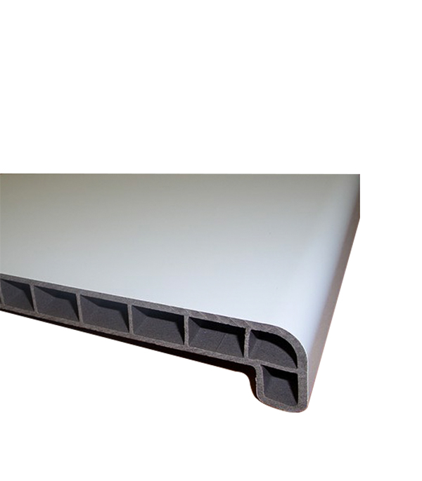 Подоконник ДПК белый 400х3000 мм