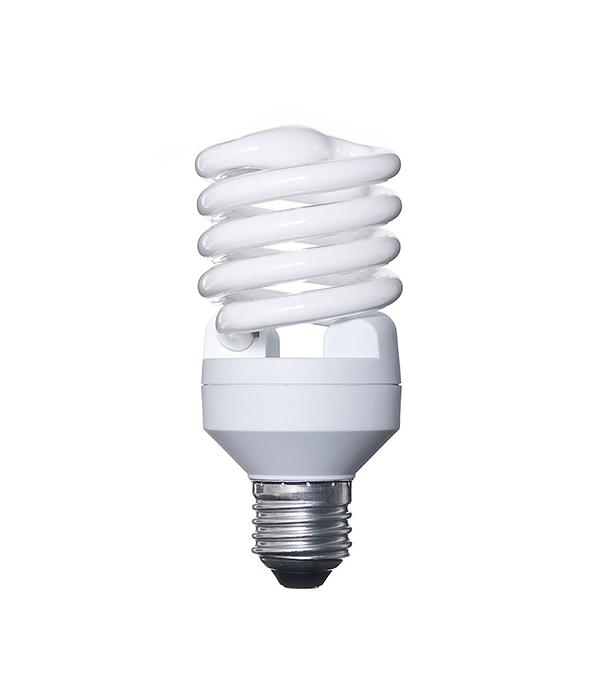 Лампа энергосберегающая E27, 23W, MiniTwist, 2700K (теплый свет), Osram