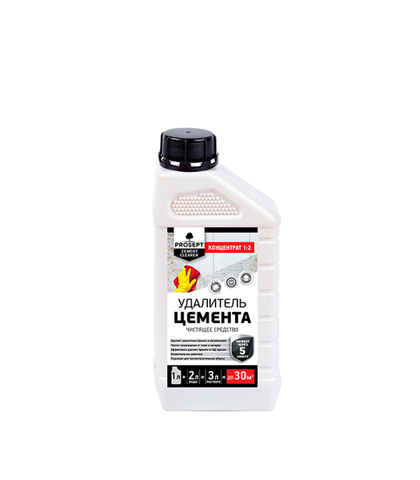 Средство для удаления цемента Prosept Cement Cleaner концентрат 1:2 1 л