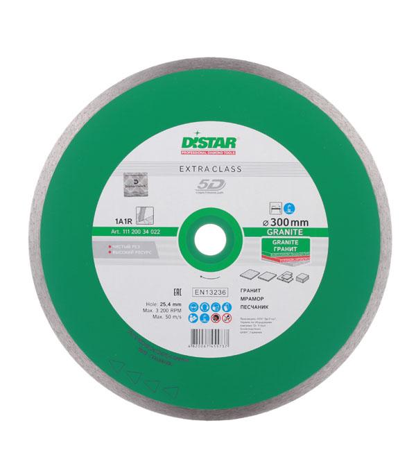 Диск алмазный сплошной по керамограниту 300x25.4 DI-STAR диск алмазный distar 1a1r 180x25мм hard ceramics