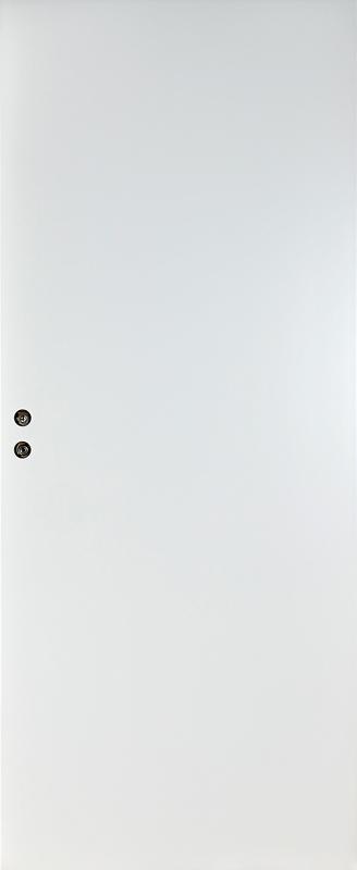 Дверное полотно  Олови белое гладкое глухое М7х21 645х2040 мм с притвором