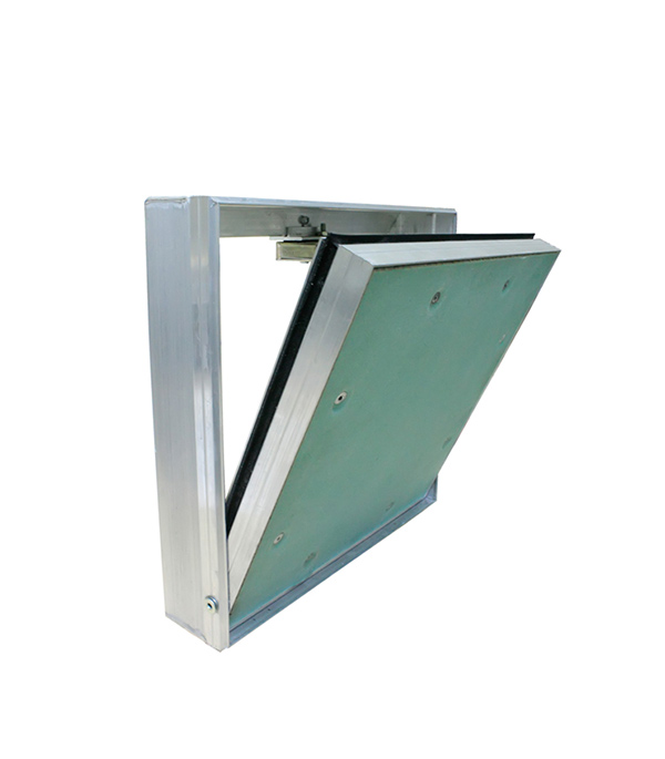 Люк ревизионный 600х600 мм под покраску алюминиевый Планшет Короб Практика