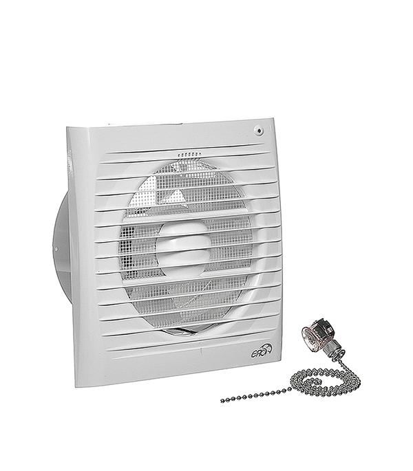 Вентилятор осевой Era 5S-02 с шнурковым выключателем d125 мм  эра era 5s 02