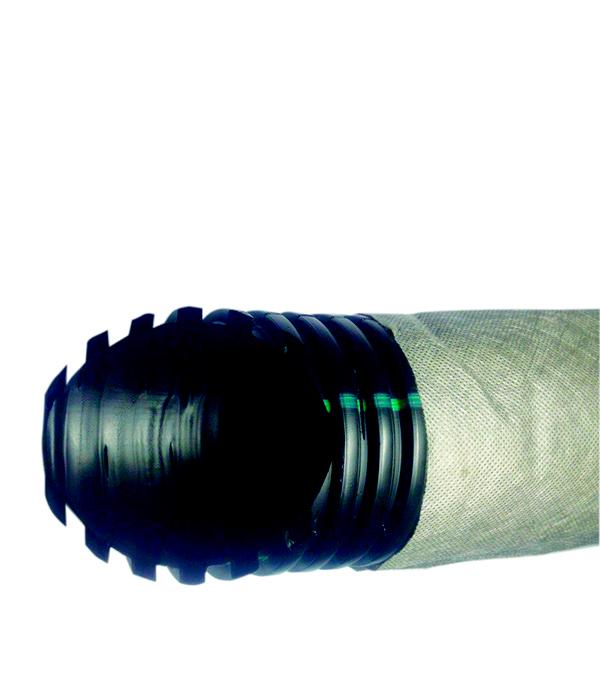 Труба дренажная двустенная ДГДТ (ДСГТ)-ПНД d110 в фильтре (50м) в г тула пластиковые трубы оптом цена труба 110 мм