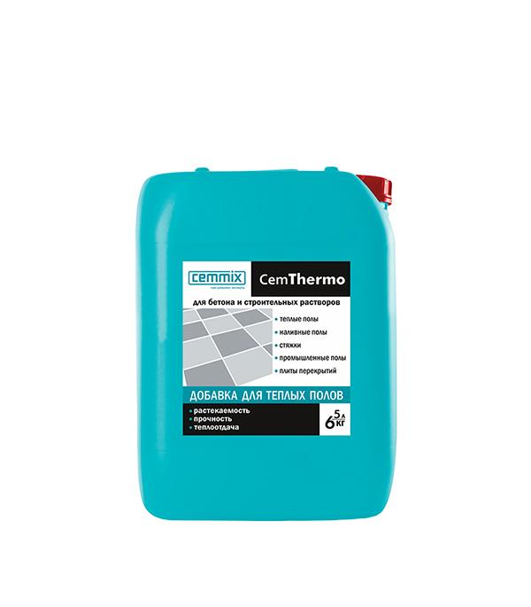 Добавка CemThermo для заливки теплых, наливных, промышленных полов и стяжек 5 л добавка 5 букв