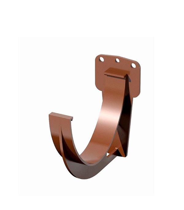 Кронштейн желоба пластиковый коричневый Технониколь