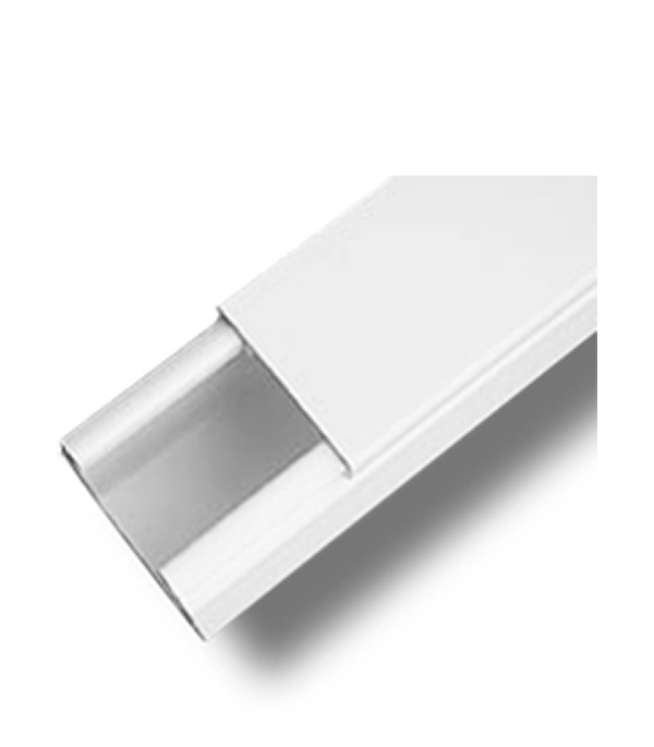 Кабель-канал 40х17 мм белый ДКС 2 м тройник отвод для кабель канала дкс 80х40 мм белый