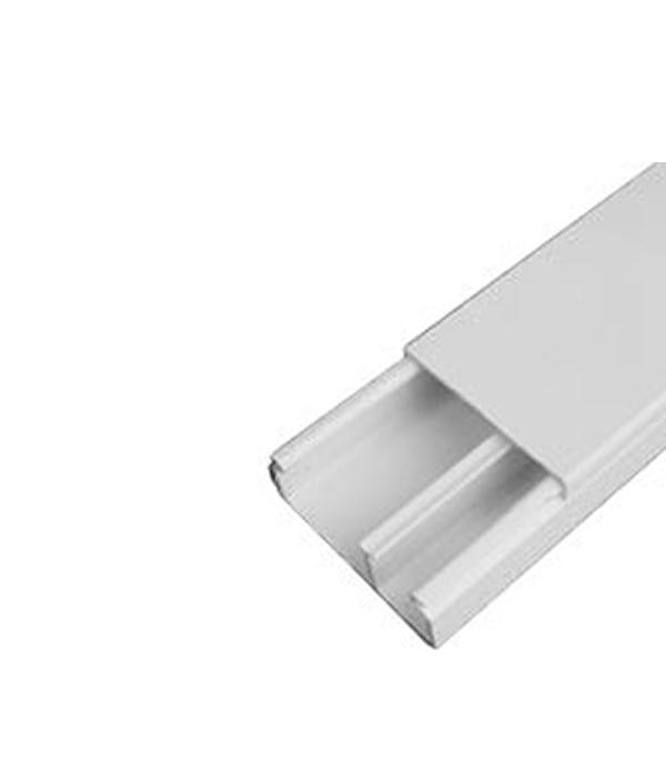 Кабель-канал 40х17 мм с перегородкой белый ДКС 2 м лоток металлический перфорированный 300х50 мм 3 м дкс