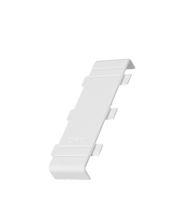 Соединение на стык крышки кабель-канала ДКС 100х60 мм белое