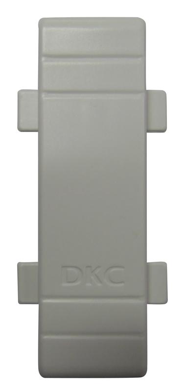 Соединение на стык крышки кабель-канала ДКС  80х40 мм белое