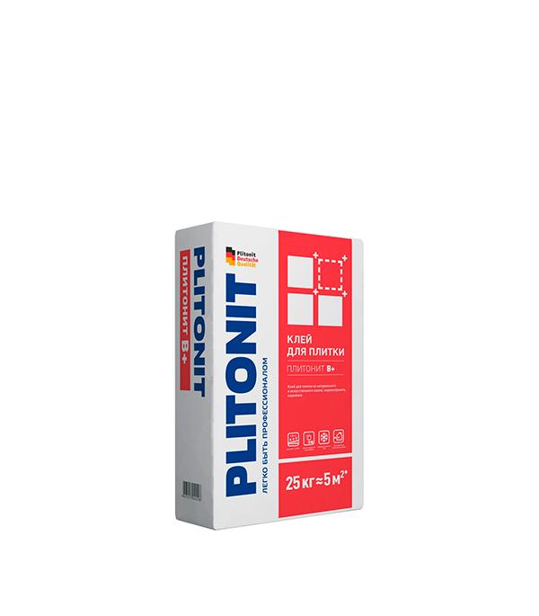 цена на Клей для плитки PLITONIT В+ 25кг