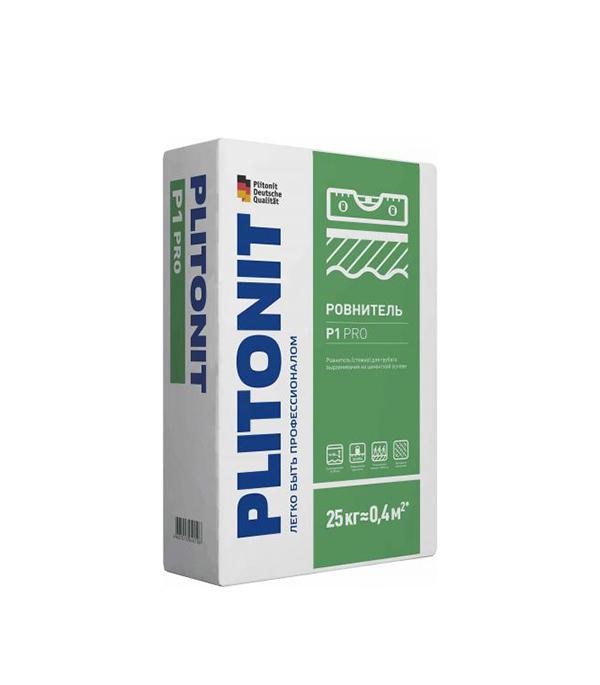Плитонит Р1 PRO (ровнитель для пола первичный), 25 кг