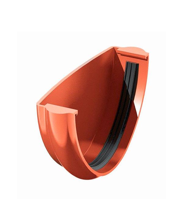 Заглушка желоба пластиковая красная Технониколь