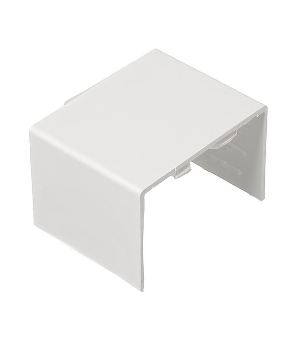 Соединение на стык кабель-канала 60x40 мм белое (4 шт.)