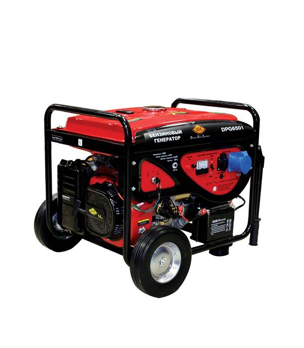 Генератор бензиновый 6,0 кВт DDE DPG6501