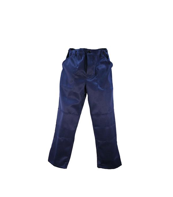 """Брюки темно-синие """"Мастер"""", размер 56-58 (112-116), рост 182-188"""