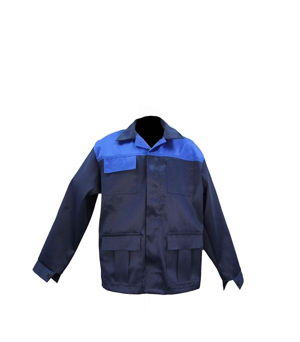 """Куртка темно-синяя """"Мастер"""", размер 56-58 (112-116), рост 170-176"""