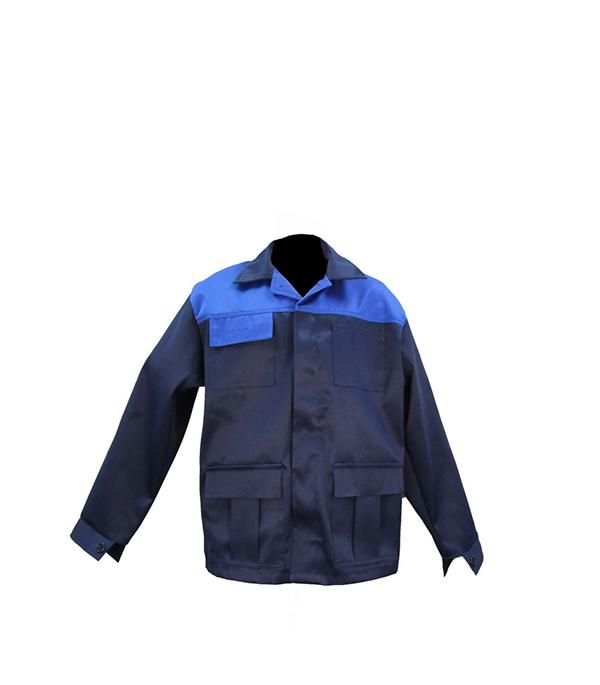 """Куртка темно-синяя """"Мастер"""", размер 48-50 (96-100), рост 182-188"""