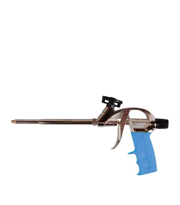Пистолет для монтажной пены Brigadier Профи пистолет для нанесения штукатурки brigadier lite