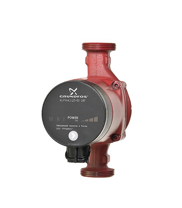 Насос циркуляционный для систем отопления Grundfos  Alpha2L 25-60 с гайками