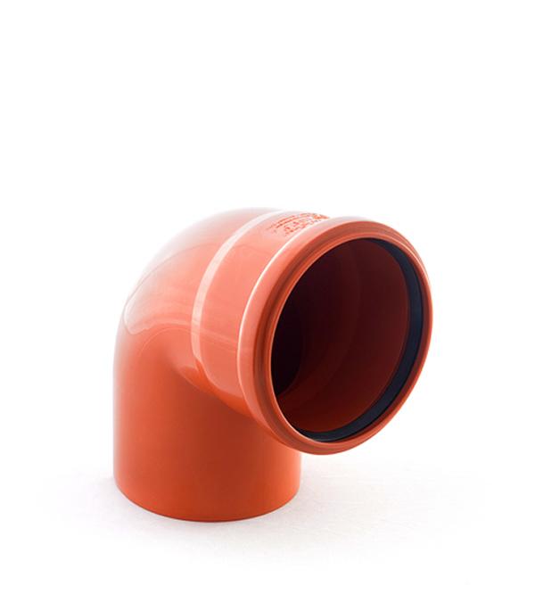 Отвод наружный 110 мм, 87° однораструбный
