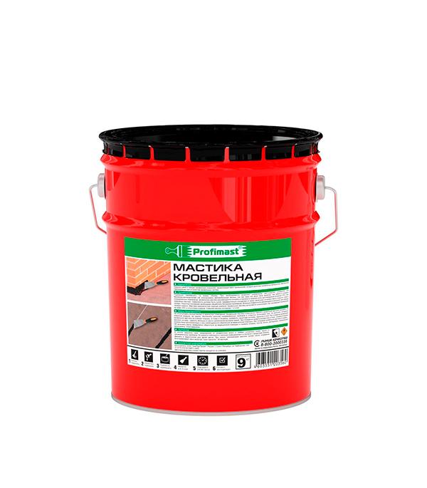 Мастика кровельная Profimast 9 кг/10 л герметик викар с марки б мастика кровельная