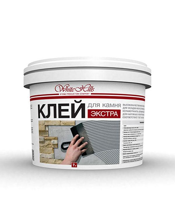 Клей цементный White Hills Экстра 7.0 кг противоморозные добавки в цементный раствор
