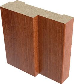 Коробка дверная ламинированная в комплекте Верда 21-7 Итальянский орех 32х70 мм