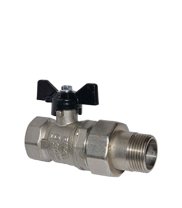 Краншаровый1/2в/нсполусгономбабочкаLD кран шаровый фланцевый ld pn40 ду50 стандартнопроходной стальной