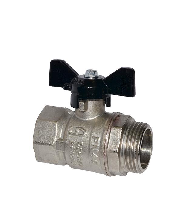 Краншаровый3/4в/нбабочкаLD кран шаровый приварной ld pn40 ду32 стандартнопроходной стальной