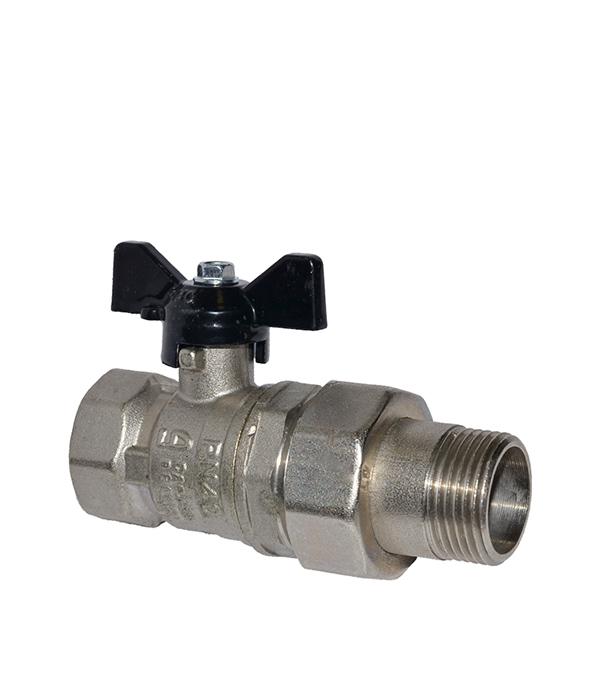 Краншаровый3/4в/нсполусгономбабочка LD кран шаровый фланцевый ld pn40 ду50 стандартнопроходной стальной