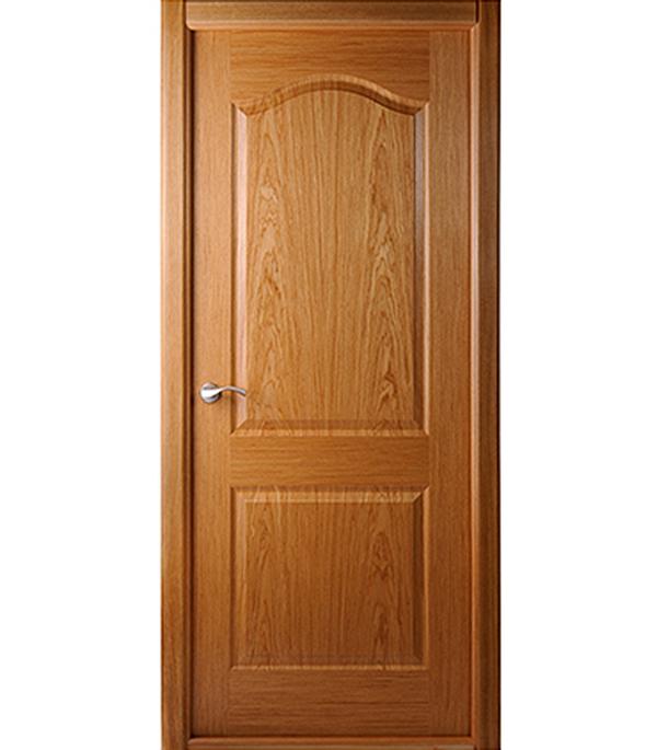 Дверное полотно Белвуддорс Капричеза шпонированное Дуб 600x2000 мм без притвора