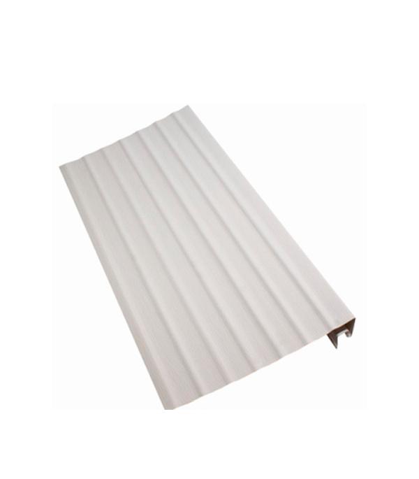 Ветровая (карнизная) доска Vinyl-On 3660 мм белая сайдинг альта профиль харьков