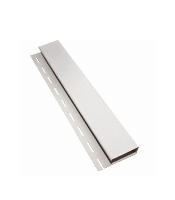 Сайдинг Vinyl-On  наличник J-профиль 3660 мм, белый