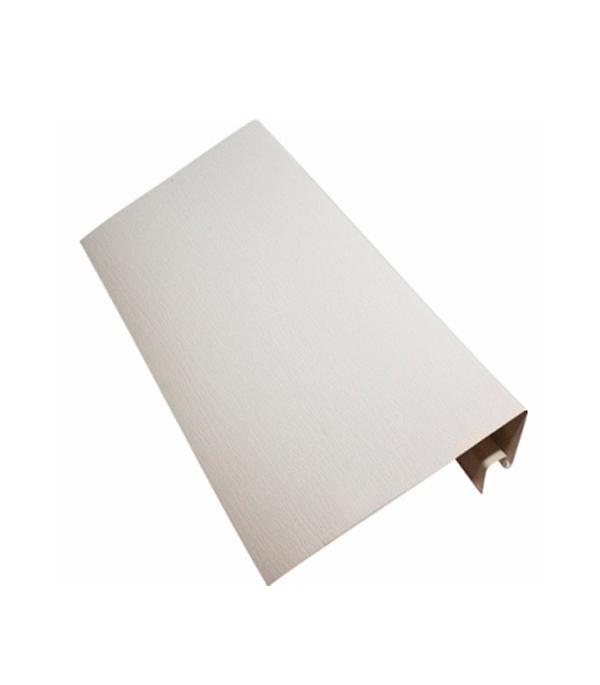 Сайдинг Vinyl-On  околооконный профиль 3660 мм, белый