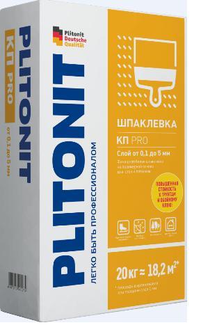 Плитонит КП ПРО белая (шпаклевка полимерная финишная), 20 кг