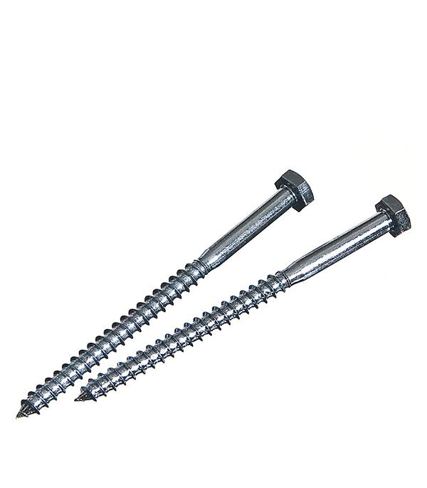 Болты сантехнические оцинкованные 6х90 мм DIN 571 (2 шт) болты сантехнические оцинкованные 6х90 мм din 571 30 шт