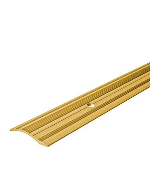 Порог С4 разноуровневый 39,4х900 мм перепад до 10 мм золото