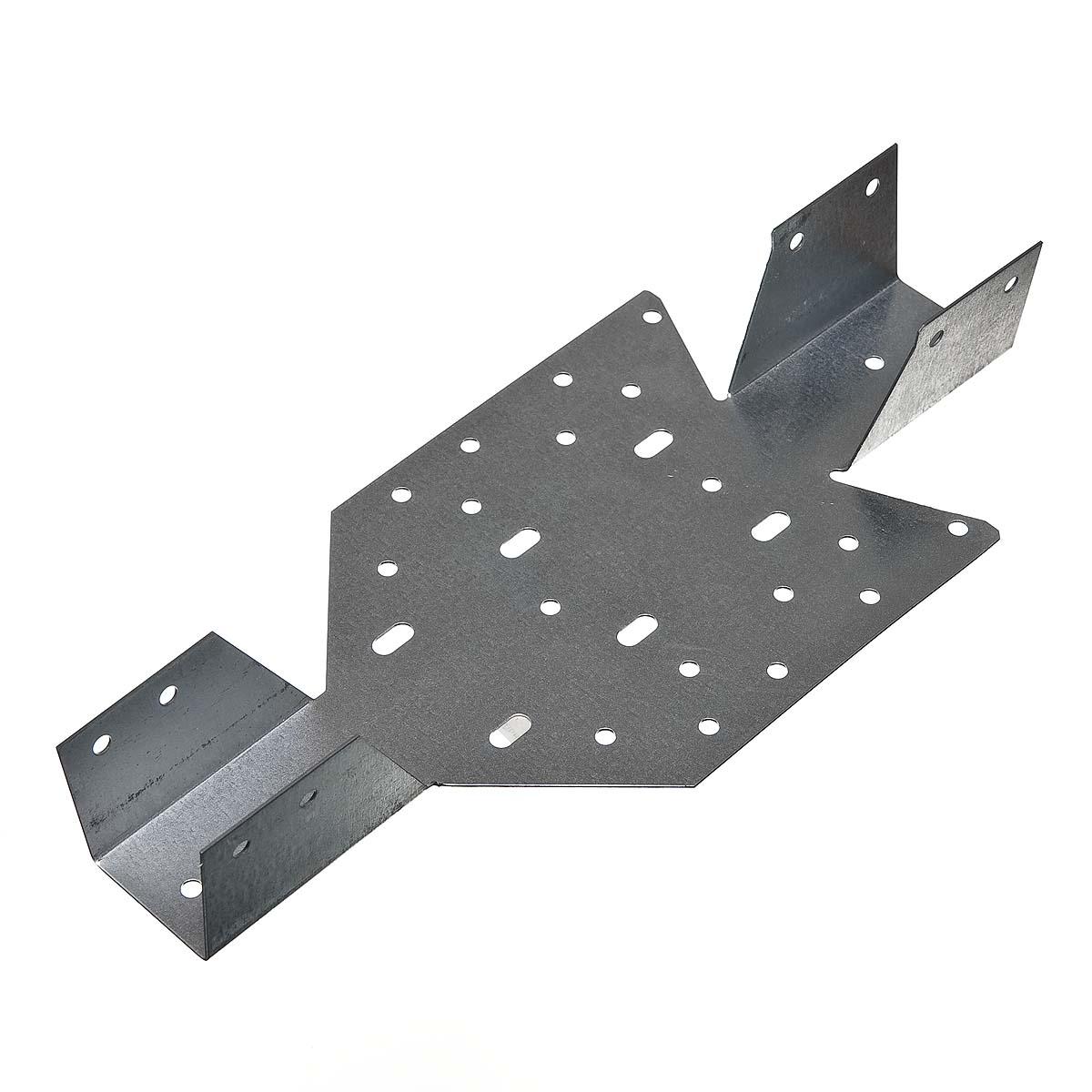 Опора балки универсальная оцинкованная 140х40х70х1 мм
