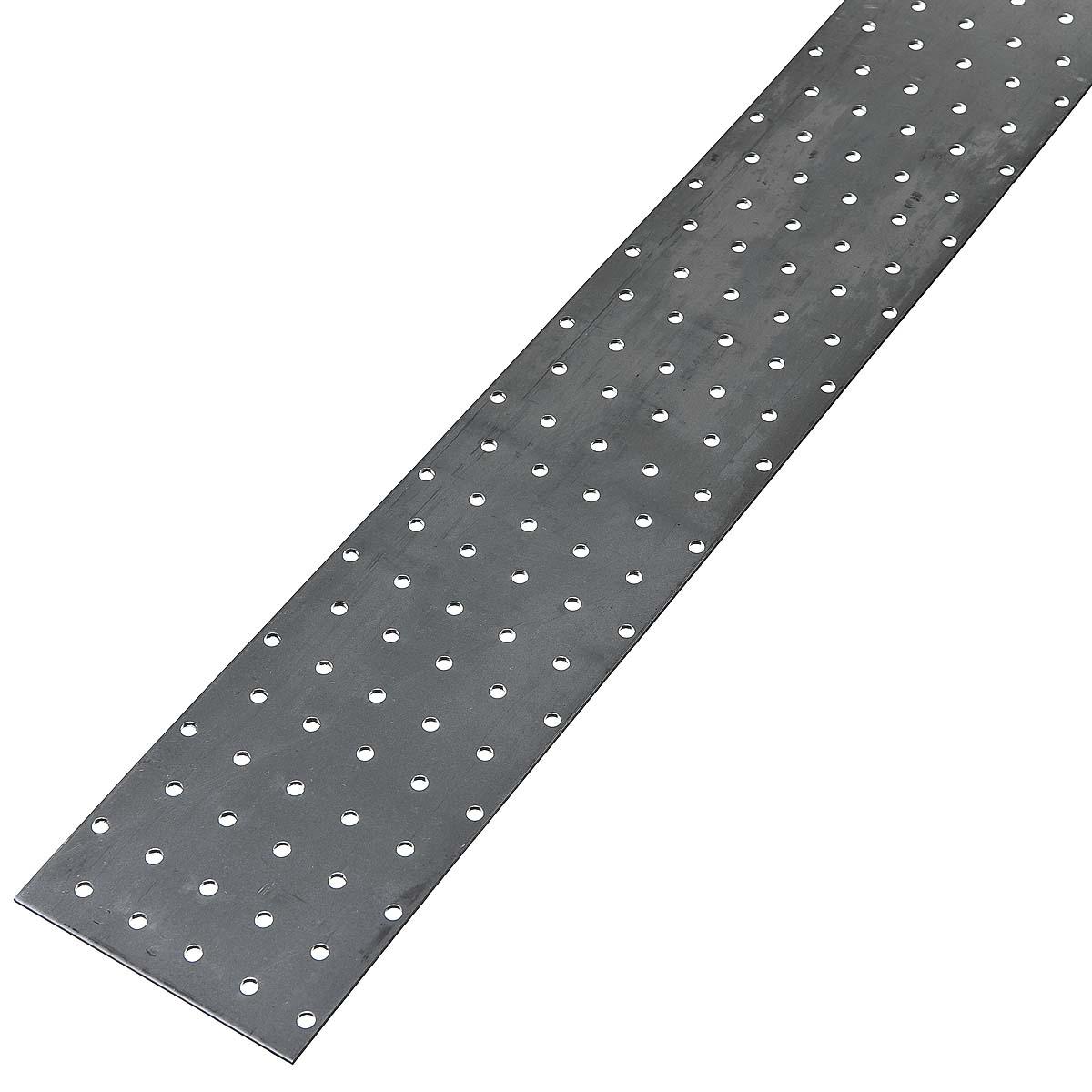 Пластина соединительная оцинкованная 1250х100х2 мм