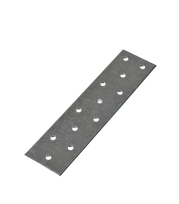 Пластина соединительная оцинкованная 160х40х2 мм